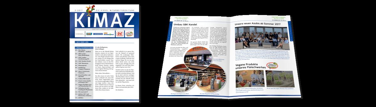 KiMaz Mitarbeiterzeitung –Kissel GmbH