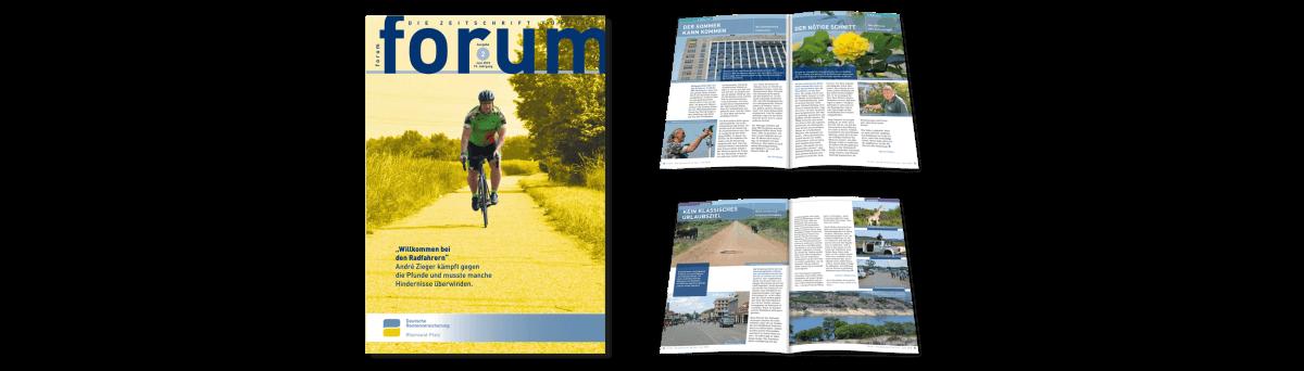 forum Mitarbeiterzeitung – Deutsche Rentenversicherung