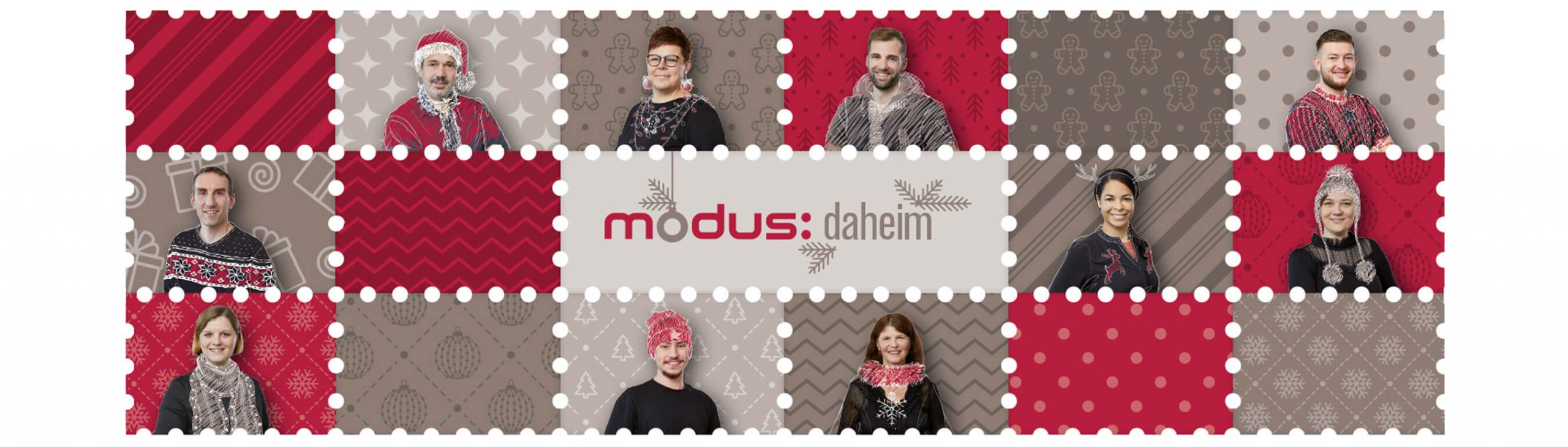 Frohe Weihnachten wünscht das modus:-Team