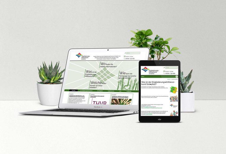 Eingliederungshilfeverbund Südpfalz (EGHV) – Webdesign & -entwicklung