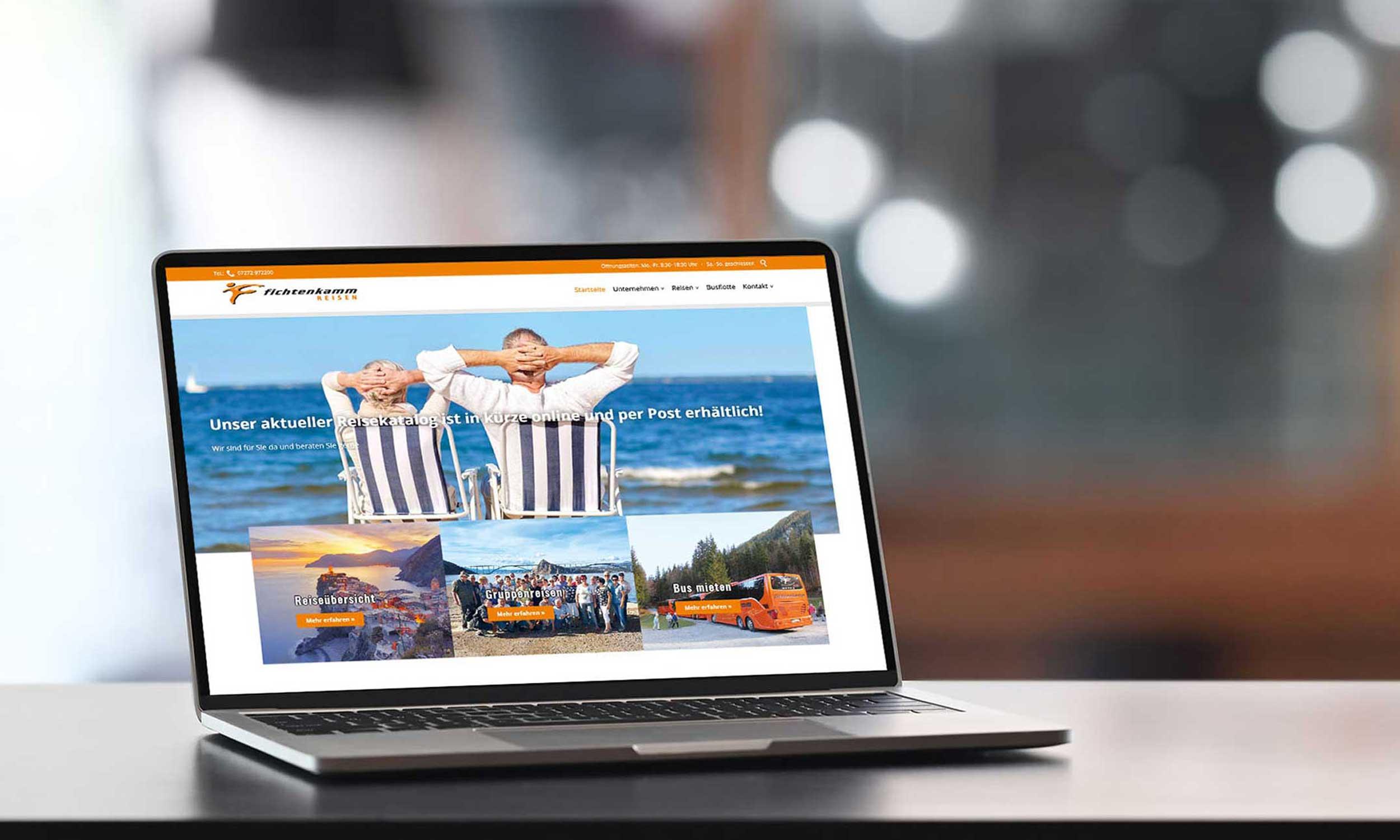 Fichtenkamm – Webdesign & -entwicklung