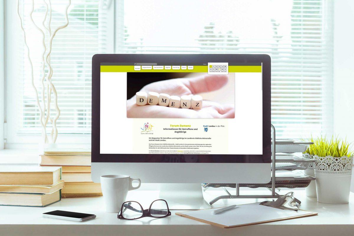 Forum Demenz – Webdesign & -entwicklung