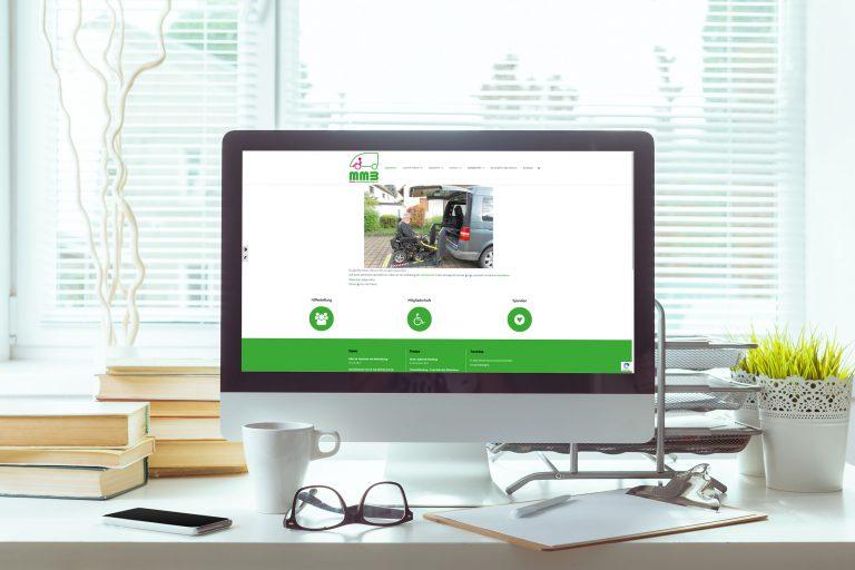 Mobil mit Behinderung – Webdesign & -entwicklung