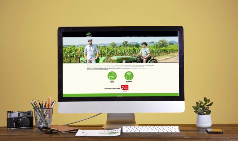 möcklis Traubensaftmanufaktur – Webdesign & -entwicklung
