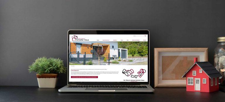 Scheller-Haus GmbH – Webdesign & -entwicklung
