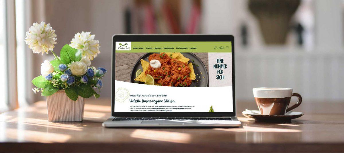 Vedschi – Webdesign & -entwicklung