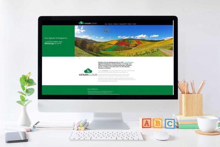 VinumCloud – Webdesign & -entwicklung