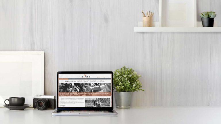 Weingut Heintz – Webdesign & -entwicklung