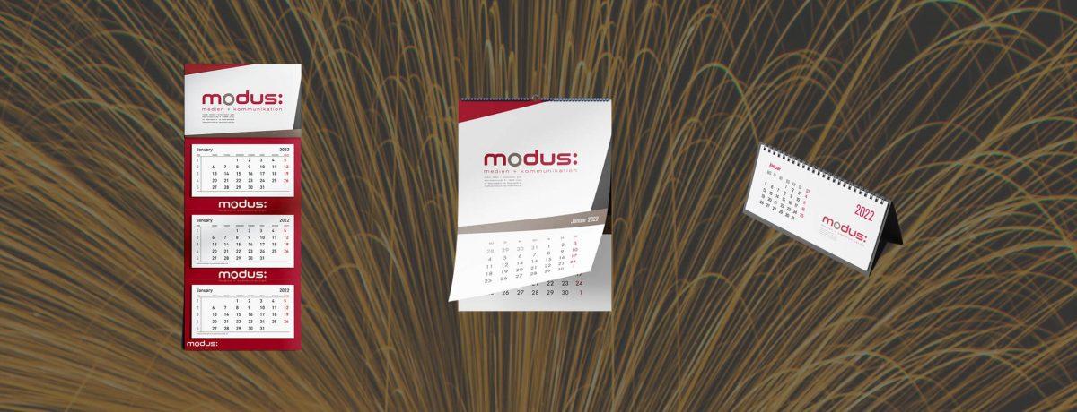 Werbeagentur Kalender 2022