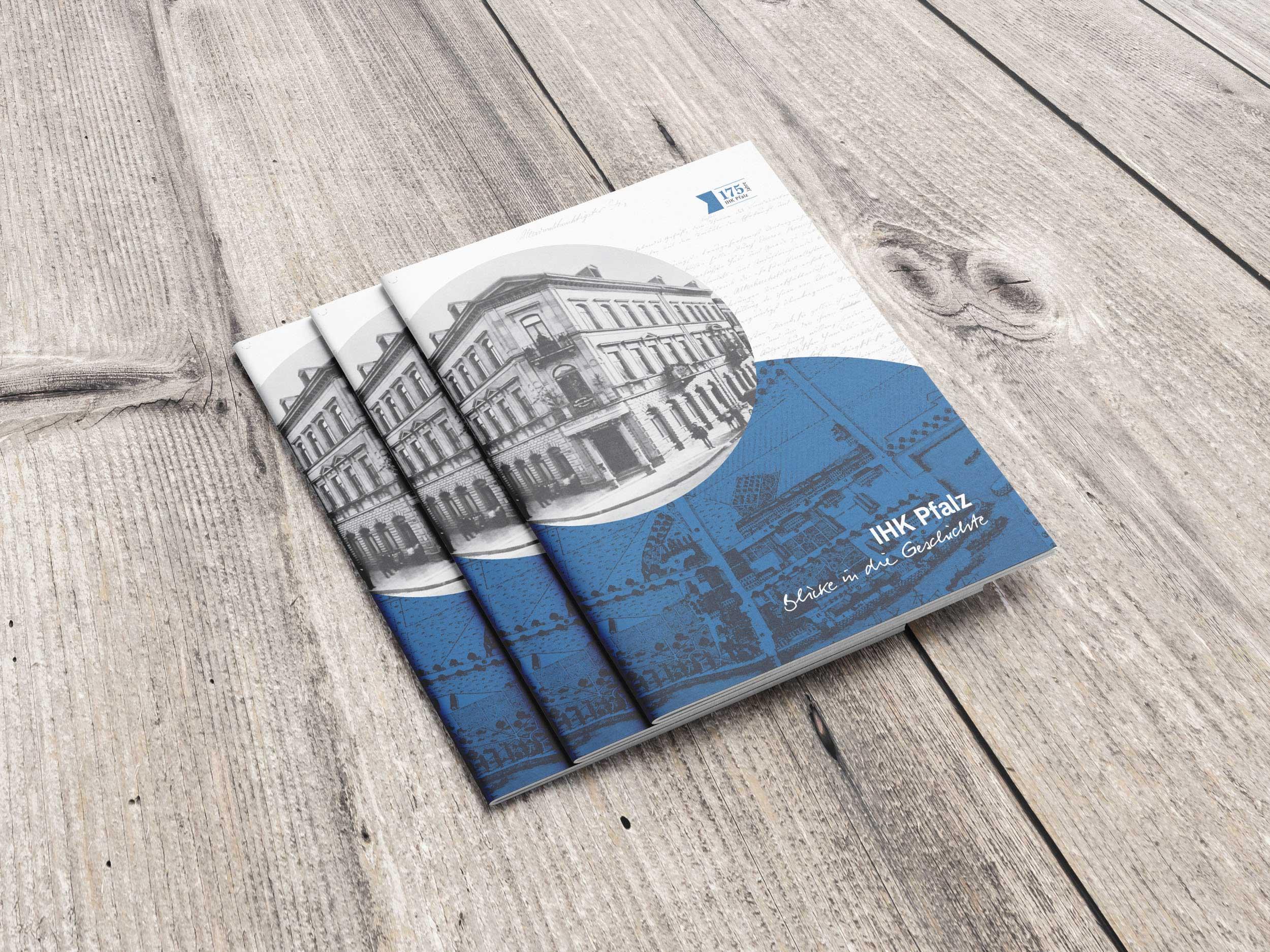 IHK Pfalz 175-Jahre-Broschüre   Design
