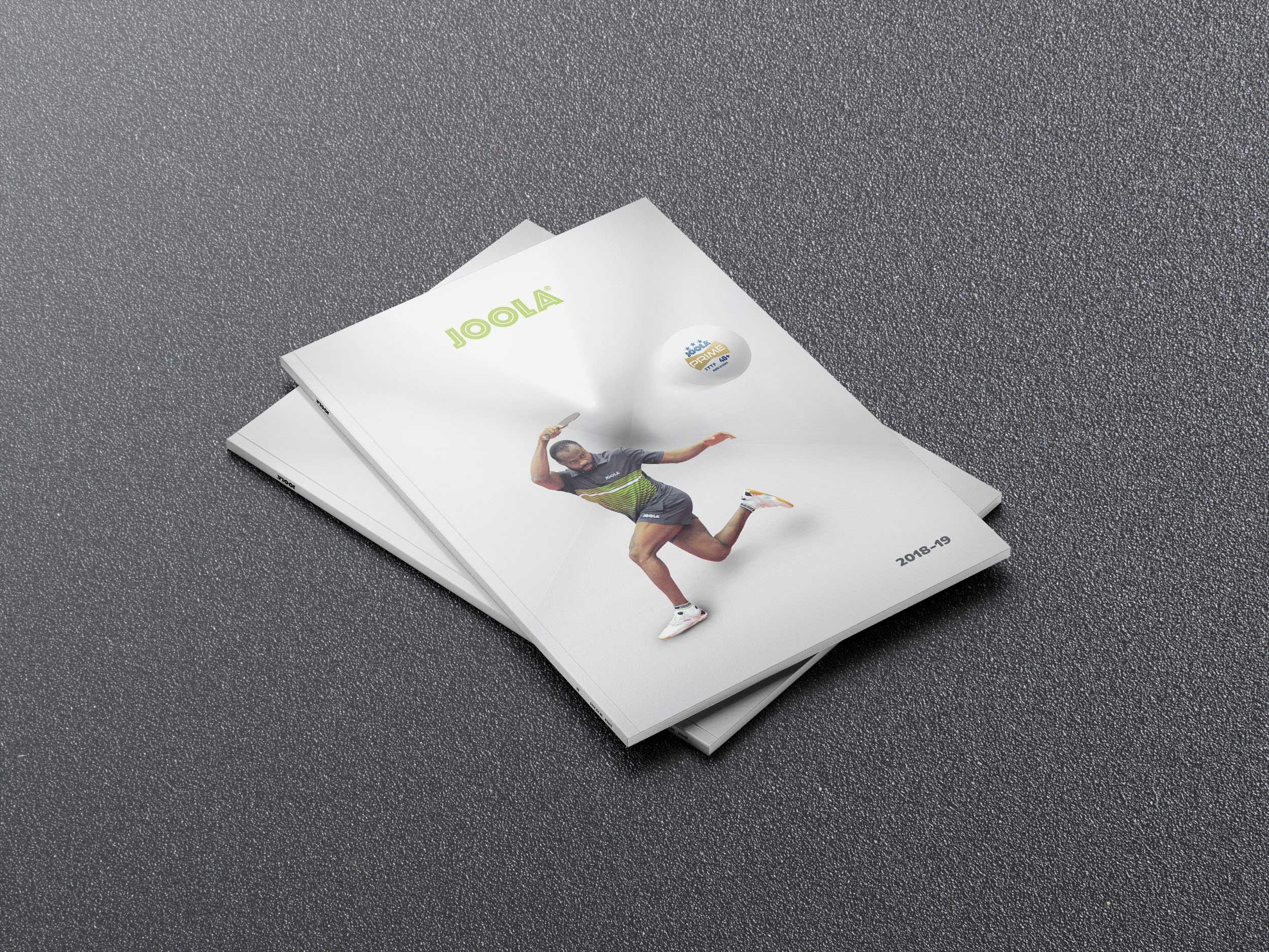 Joola Katalog 2018/2019   Design