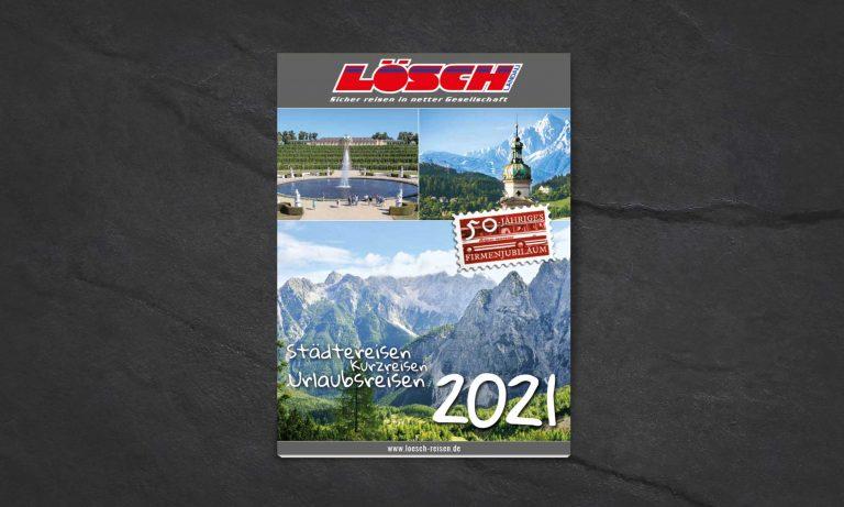 Lösch Reisen Katalog | Design
