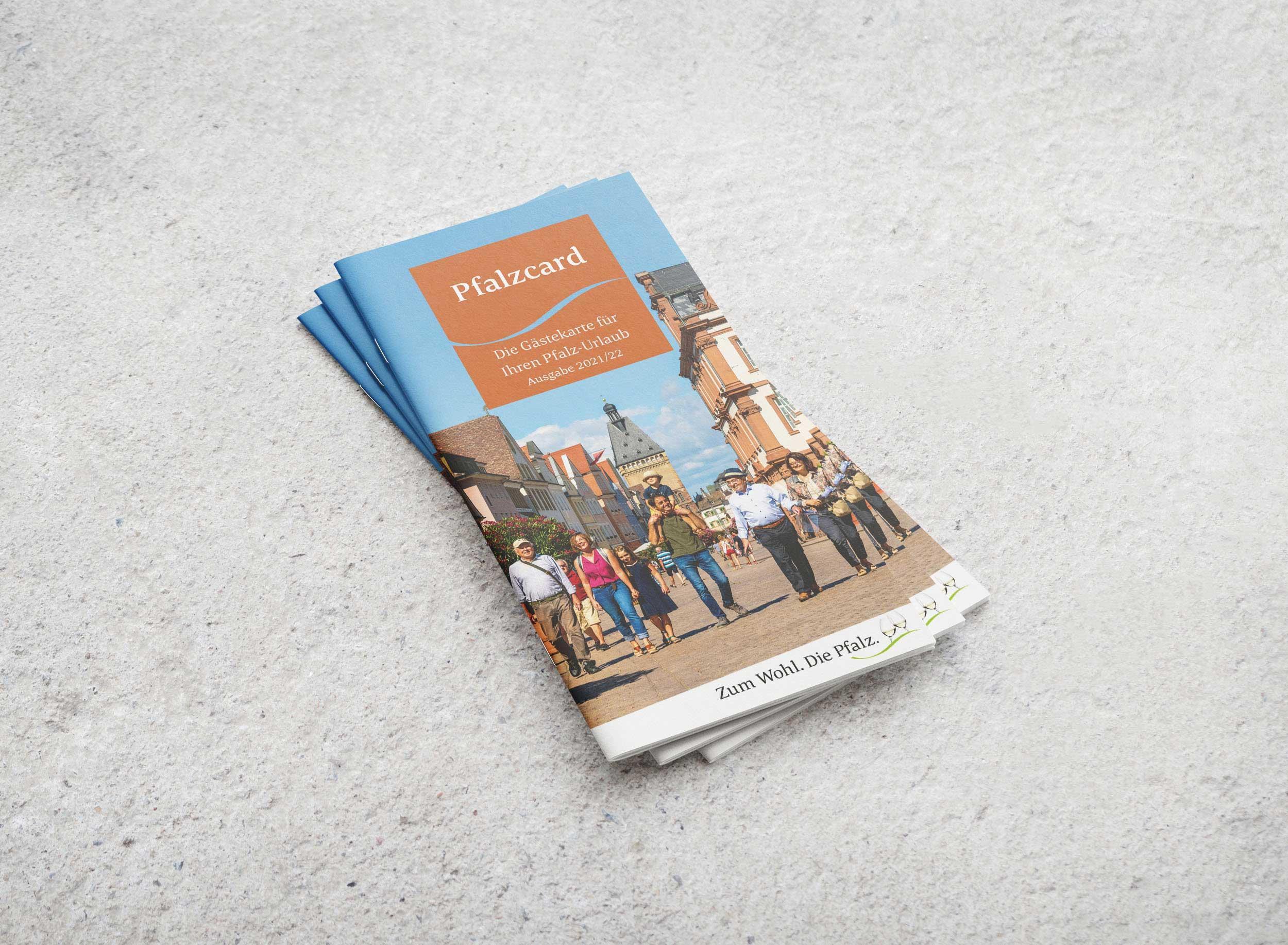 Pfalzcard – Pfalz Touristik   Design