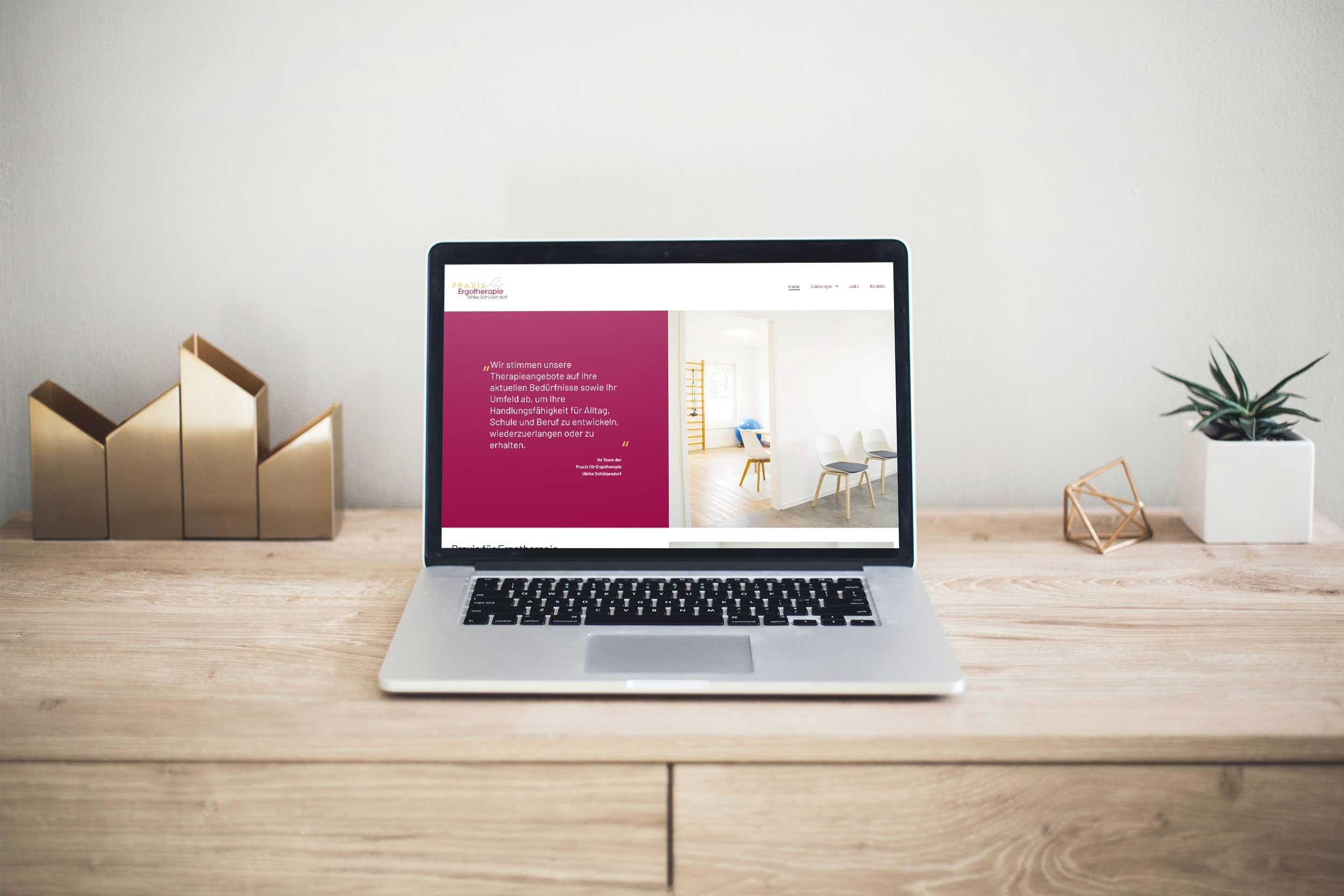 Praxis für Ergotherapie Ulrike Schützendorf – Webdesign & -entwicklung