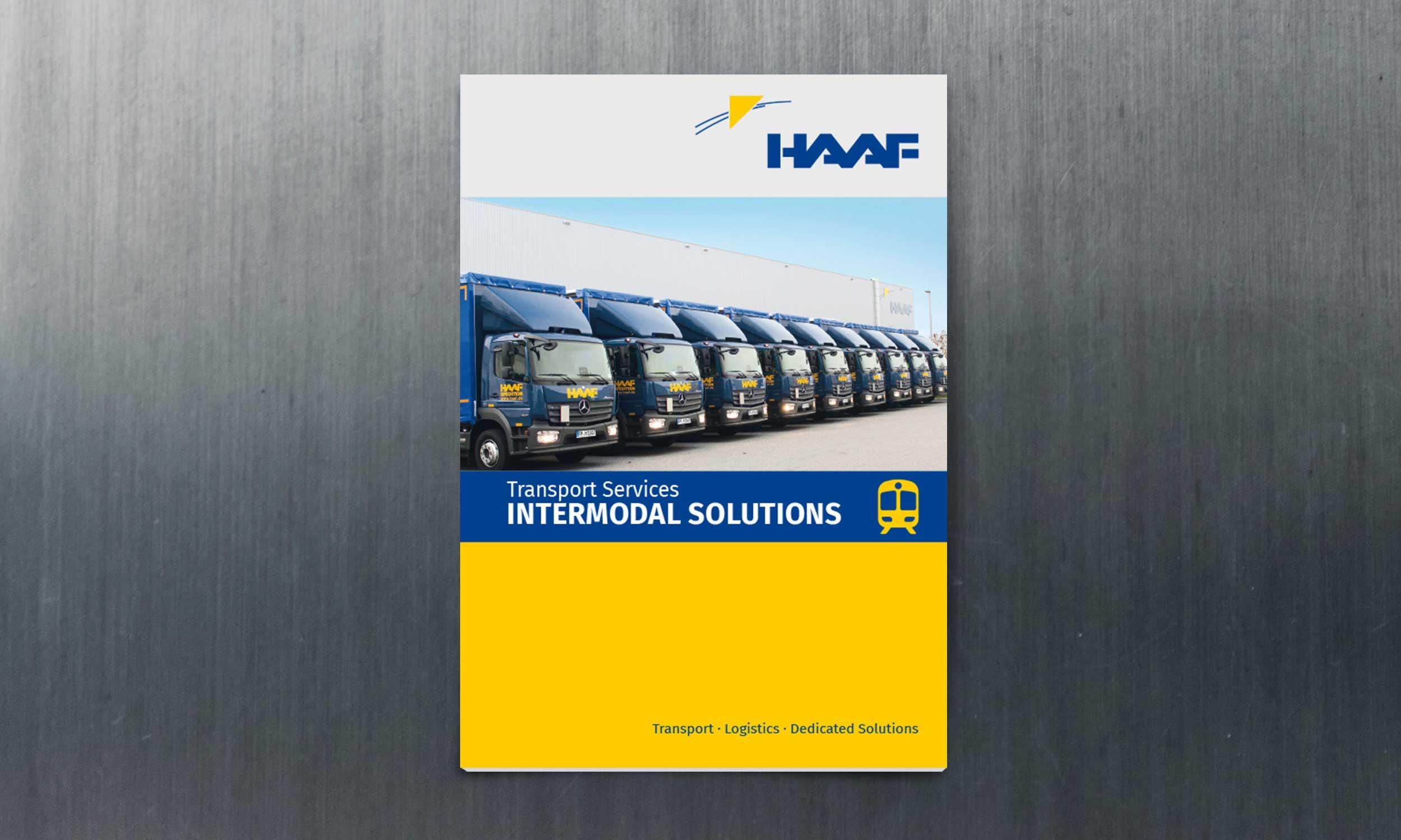 Spedition Haaf – Intermodal Solutions |Design