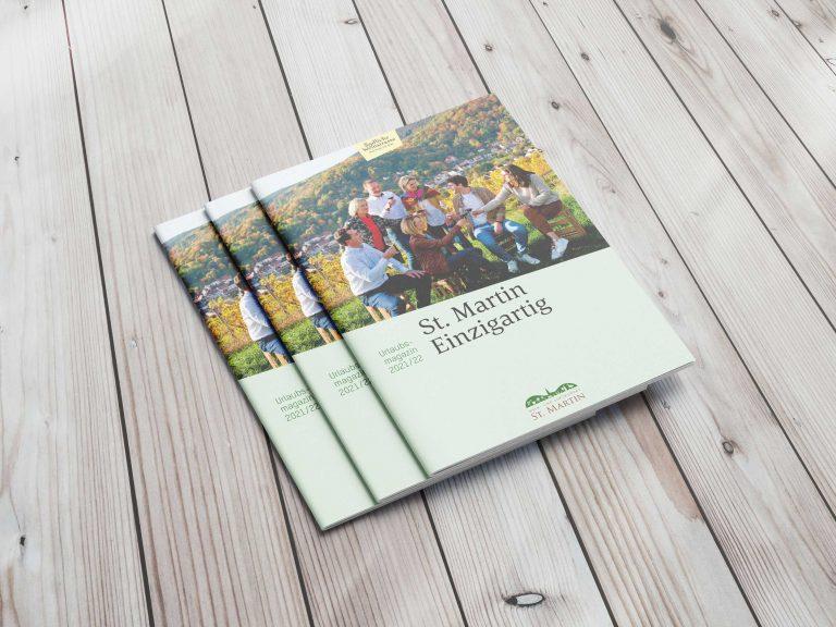 St. Martin Urlaubsmagazin | Design | Konzeption | Content