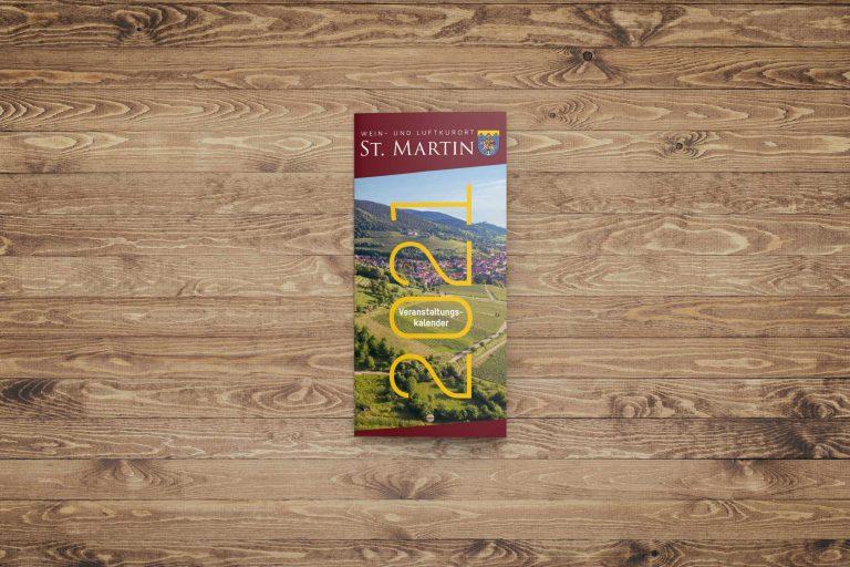 Veranstaltungskalender St. Martin | Konzeption/Design