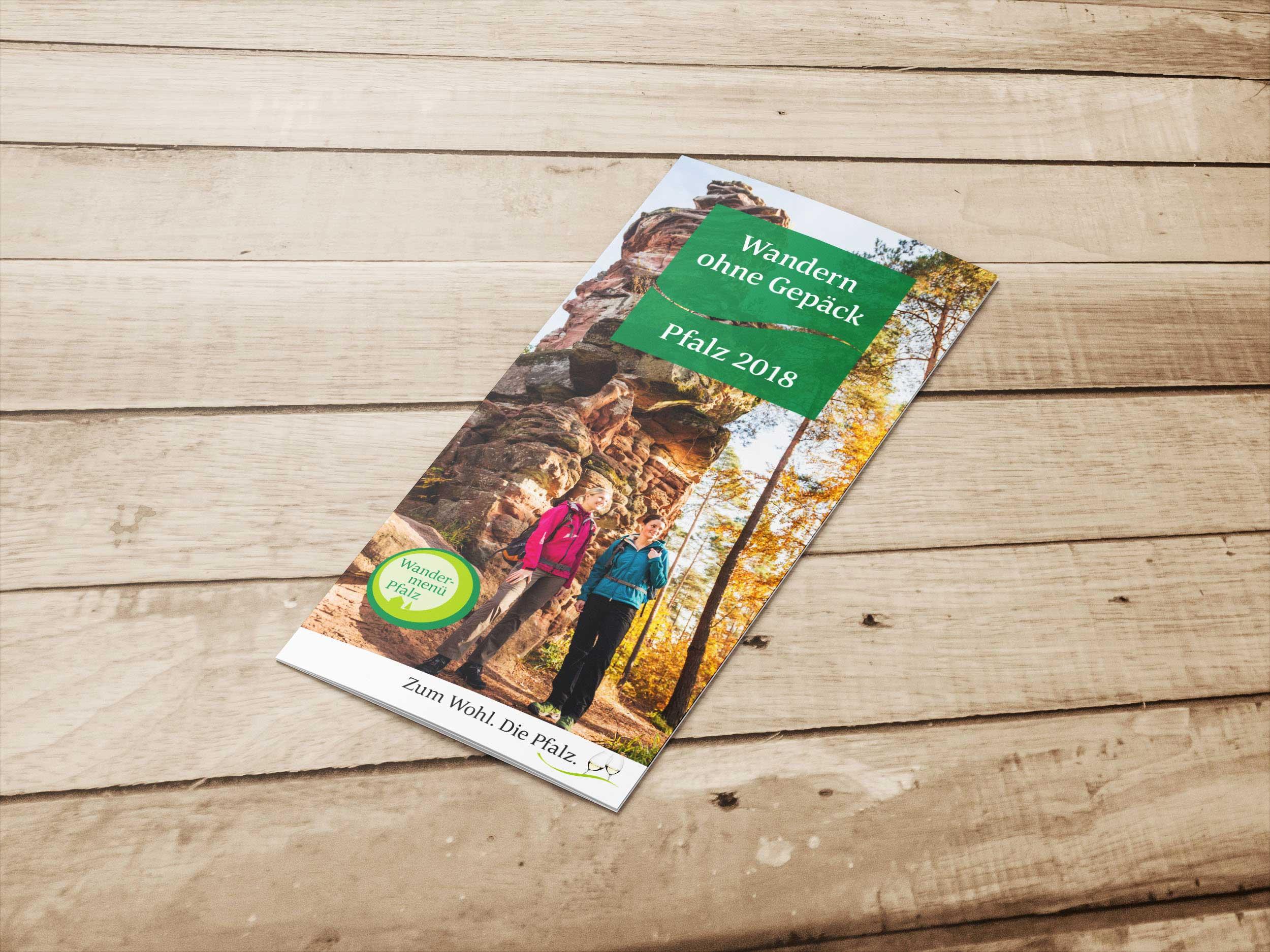 Wandern ohne Gepäck – Pfalz Touristik | Design